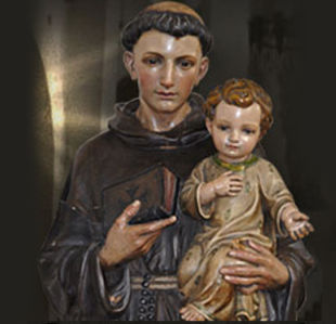Saint Antony and Child Jesus